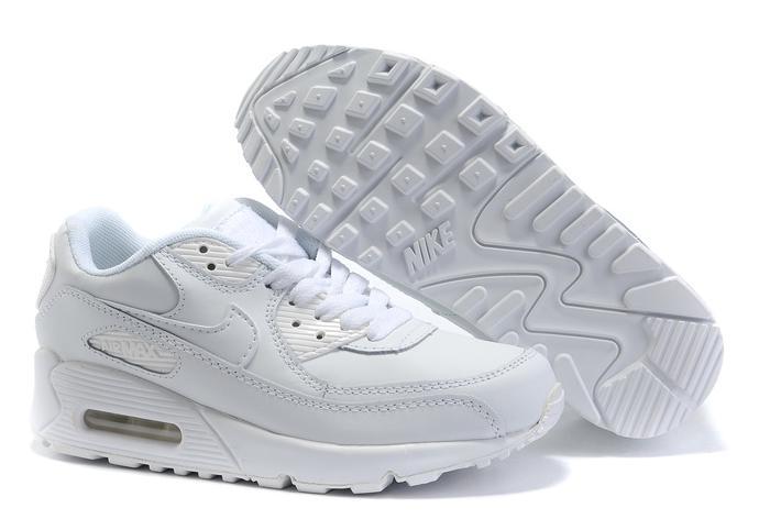 Nike Air Max 90 белые (35-46) — купить в Ростове-на-Дону, дисконт интернет-магазин StreetFoot.ru